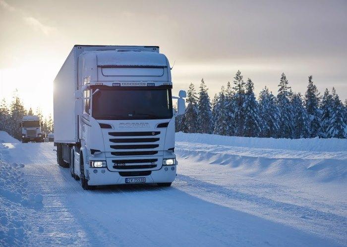 перевозки зимой